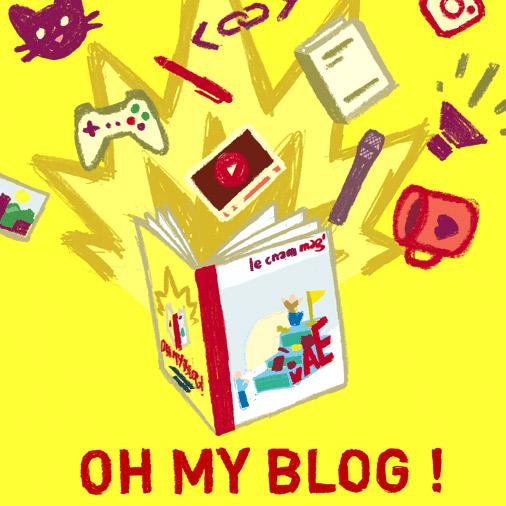 Oh! My blog!